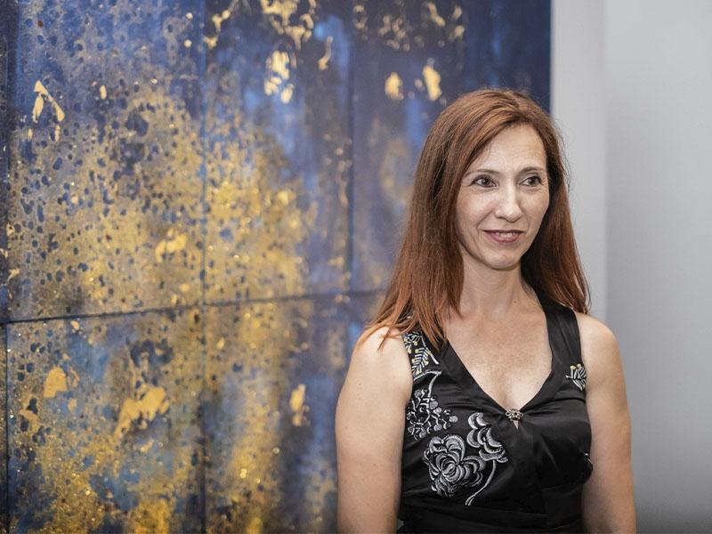 Foto 3 : Exposicions Viatgeres inaugura a la Casa de Cultura una nova mostra itinerant centrada en l'obra de l'artista Maria Mercader