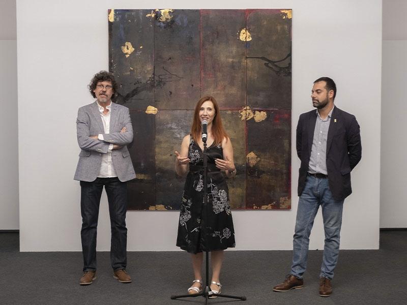 Foto 2 : Exposicions Viatgeres inaugura a la Casa de Cultura una nova mostra itinerant centrada en l'obra de l'artista Maria Mercader