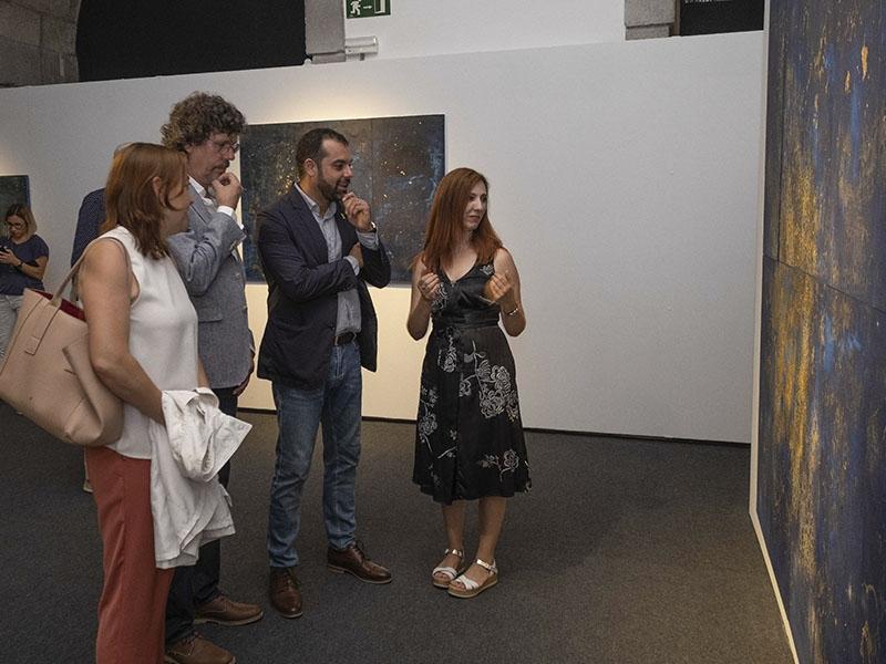 Foto 5: Exposicions Viatgeres inaugura a la Casa de Cultura una nova mostra itinerant centrada en l'obra de l'artista Maria Mercader