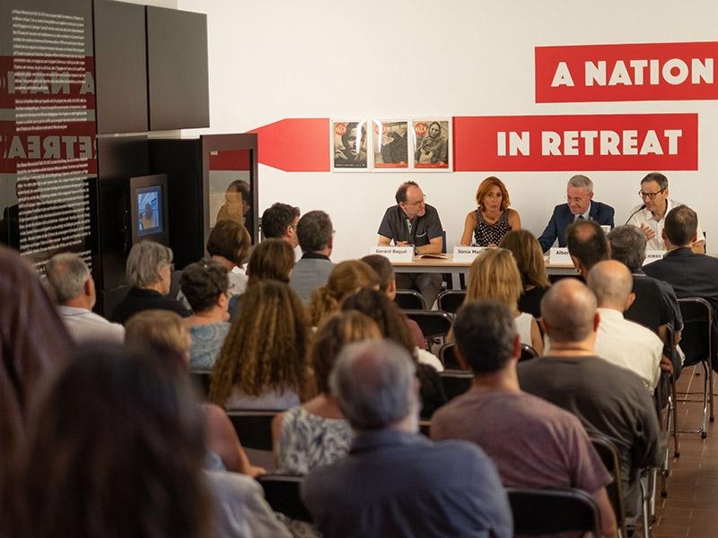 """Foto 3 : El Museu Memorial de l'Exili de la Jonquera acull la presentació del darrer número de la <span style=""""font-style: italic;"""">Revista de Girona</span>"""