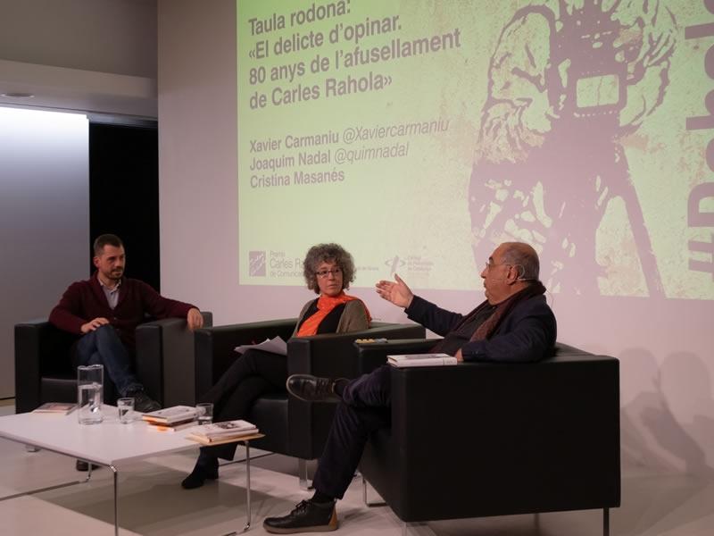 Foto 5: «El delicte d'opinar. 80 anys de l'afusellament de Carles Rahola» <br>