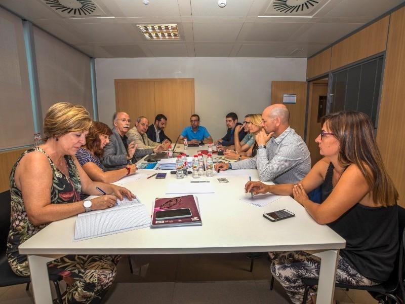 Foto 2 : Visita institucional del vicepresident Pau Presas a la Diputació de Tarragona