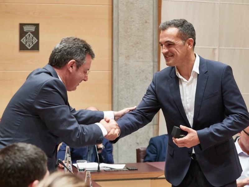 Foto 6: Aprovat el Cartipàs de la nova legislatura de la Diputació de Girona