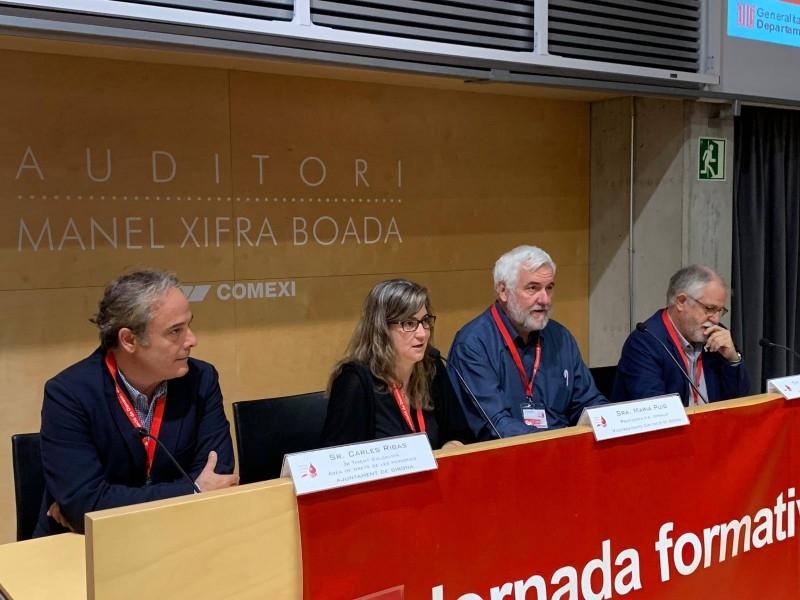 Foto 1 : 9a Jornada Formativa per a Delegats de l'Associació de Donants de Sang<br>