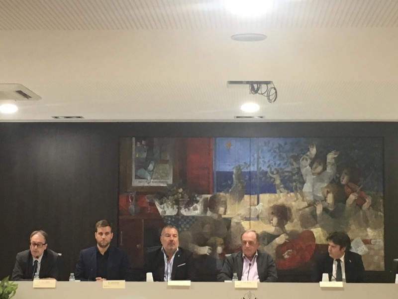 Foto 2 : Presenten el projecte de la residència Els Estanys a Platja d'Aro