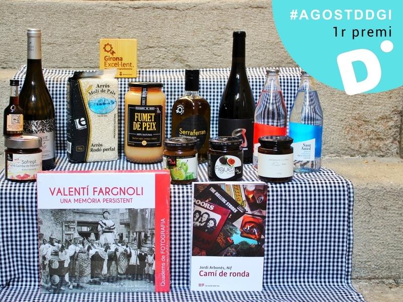Foto 2 : La Diputació de Girona convoca el segon concurs de Twitter #AgostDdGI