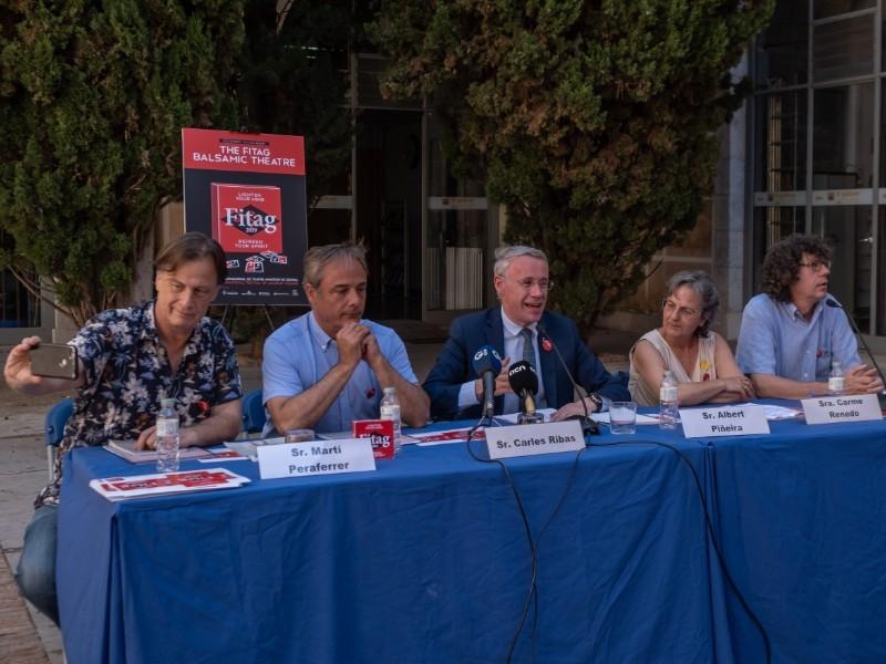 Foto 2 : L'expressió corporal i el teatre dansa protagonitzen el dinovè Festival Internacional de Teatre Amateur de Girona<br>
