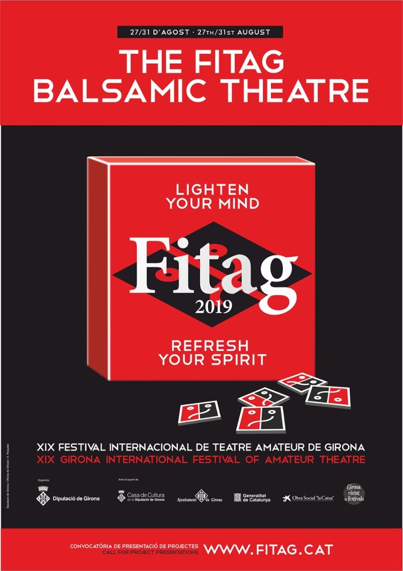 Foto 2 : Trobada de l'equip del FITAG a la vigília de la inauguració del festival