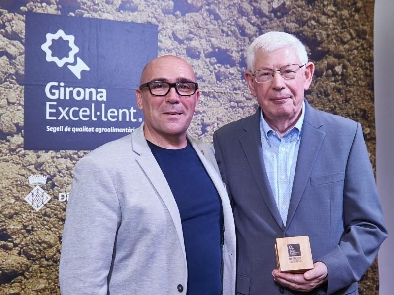 Foto 10: La Diputació de Girona reconeix personatges gironins amb el guardó al mestratge gastronòmic<br>