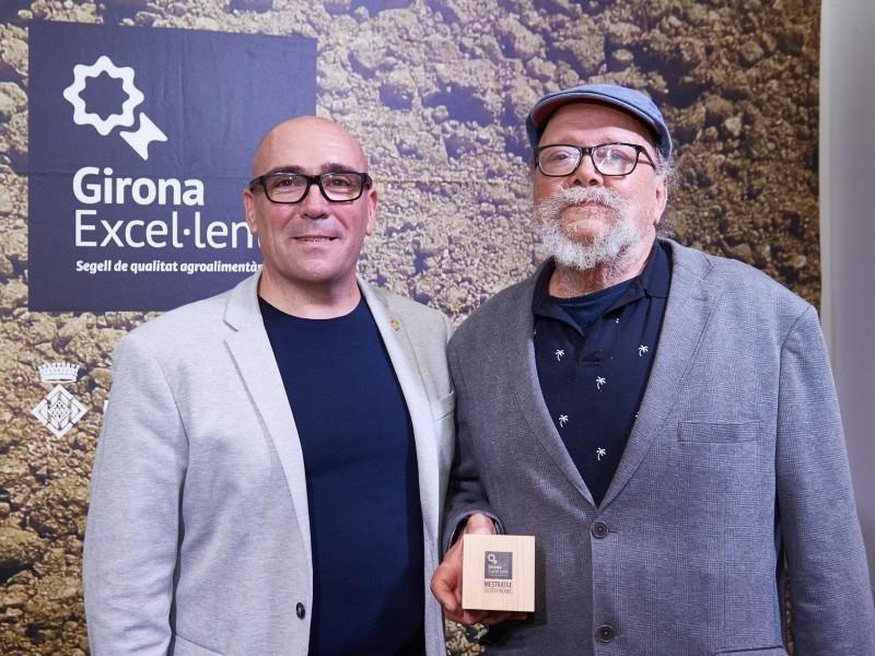Foto 11: La Diputació de Girona reconeix personatges gironins amb el guardó al mestratge gastronòmic<br>