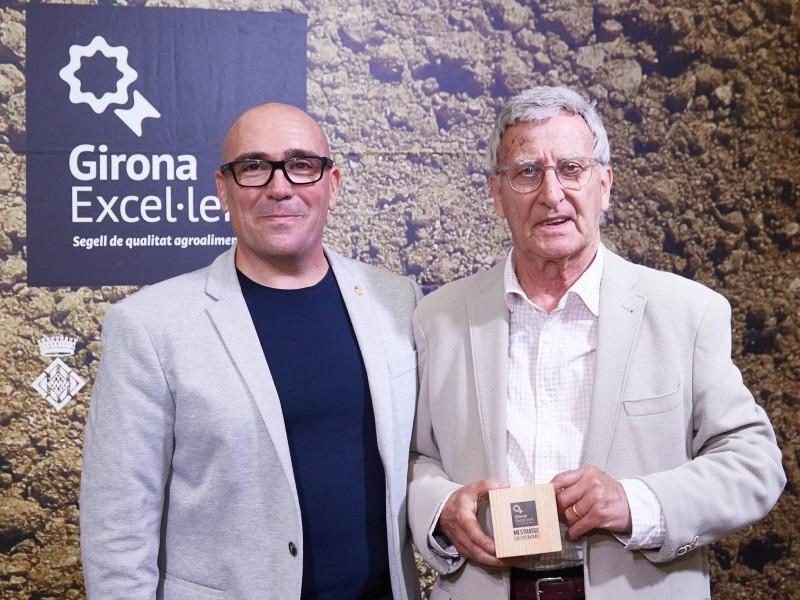 Foto 12: La Diputació de Girona reconeix personatges gironins amb el guardó al mestratge gastronòmic<br>