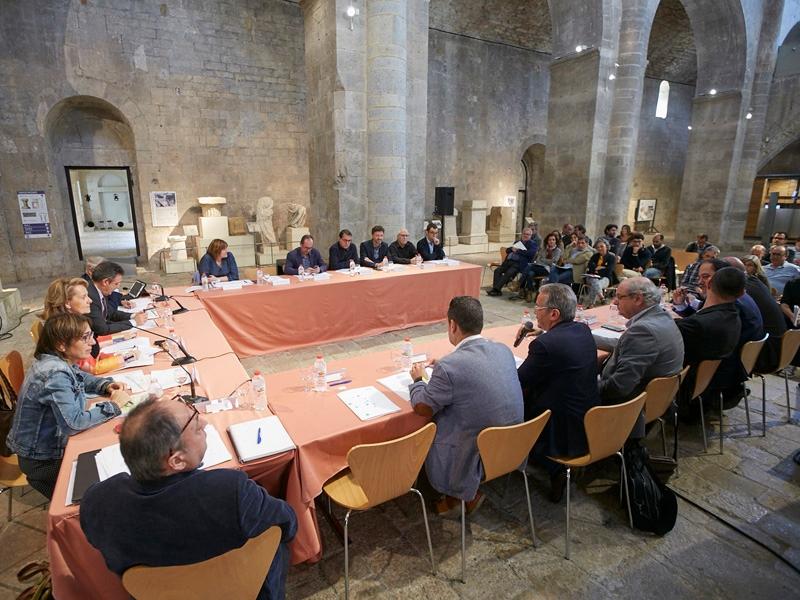 Foto 3 : <p>La Comissi&oacute; Institucional de Museus es reuneix per tercera vegada</p>