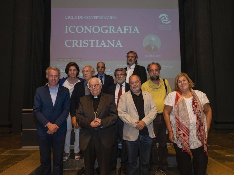 Foto 3 : S'obre el cicle de conferències sobre iconografia cristiana