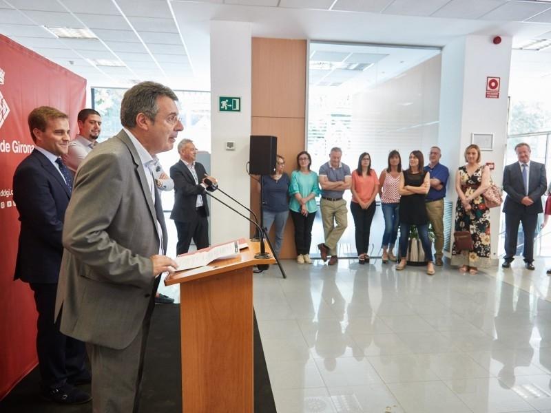 Foto 3 : Inauguració de les dependències de XALOC<br>