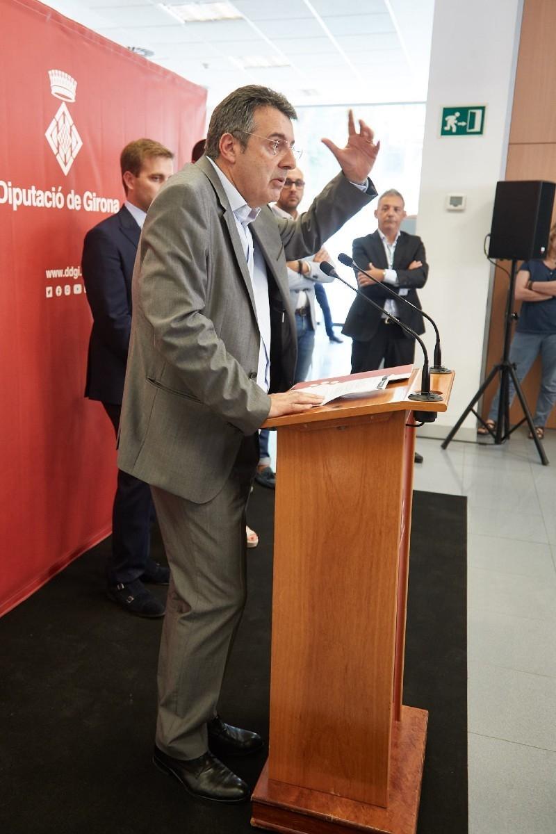 Foto 5: Inauguració de les dependències de XALOC<br>