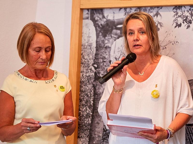 Foto 1 : L'exposició «Valentí Fargnoli. El paisatge revelat» s'inaugura a Amer