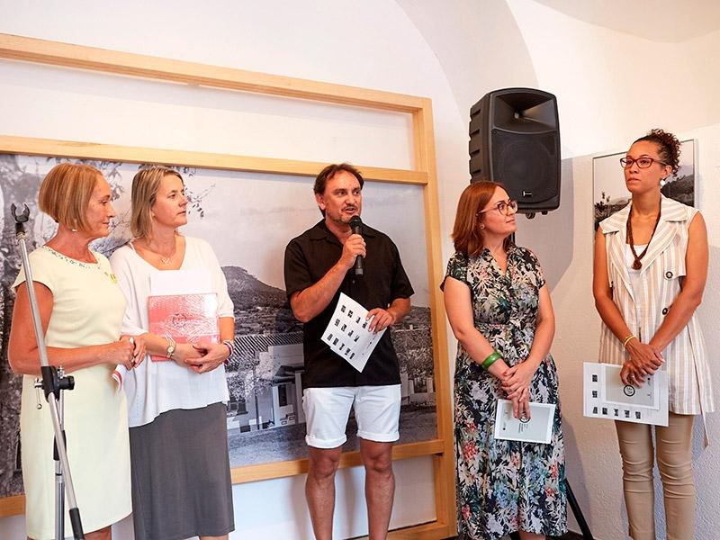 Foto 7: L'exposició «Valentí Fargnoli. El paisatge revelat» s'inaugura a Amer