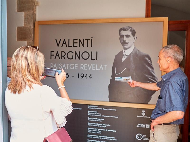 Foto 4: L'exposició «Valentí Fargnoli. El paisatge revelat» s'inaugura a Amer