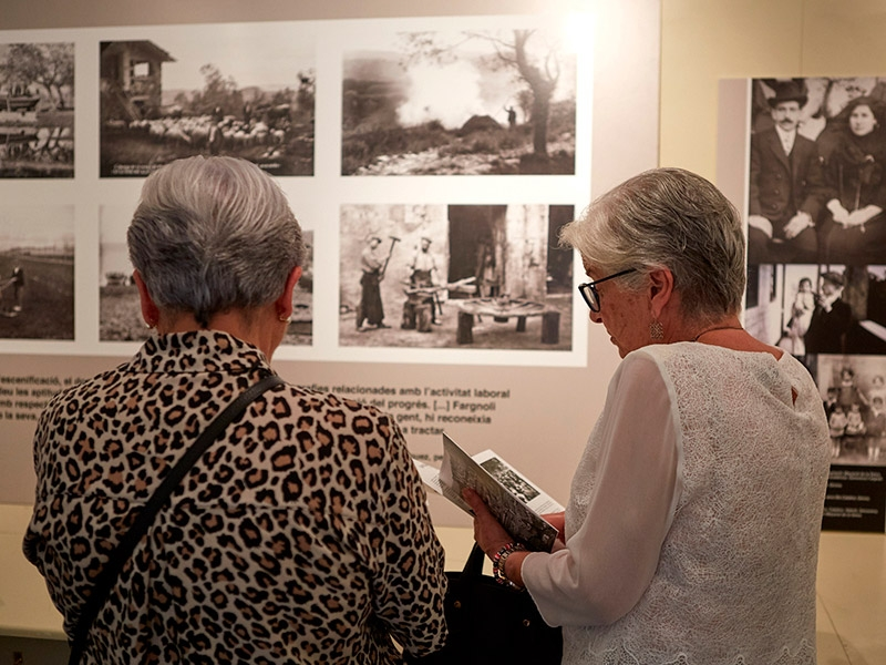 Foto 5: L'exposició «Valentí Fargnoli. El paisatge revelat» s'inaugura a Amer