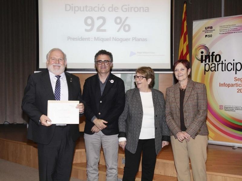 Foto 4: El segell Infoparticipa 2018 premia la qualitat i la transparència de la comunicació pública local