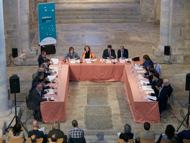 Foto 2 : <p>La Comissi&oacute; Institucional de Museus es reuneix per tercera vegada</p>