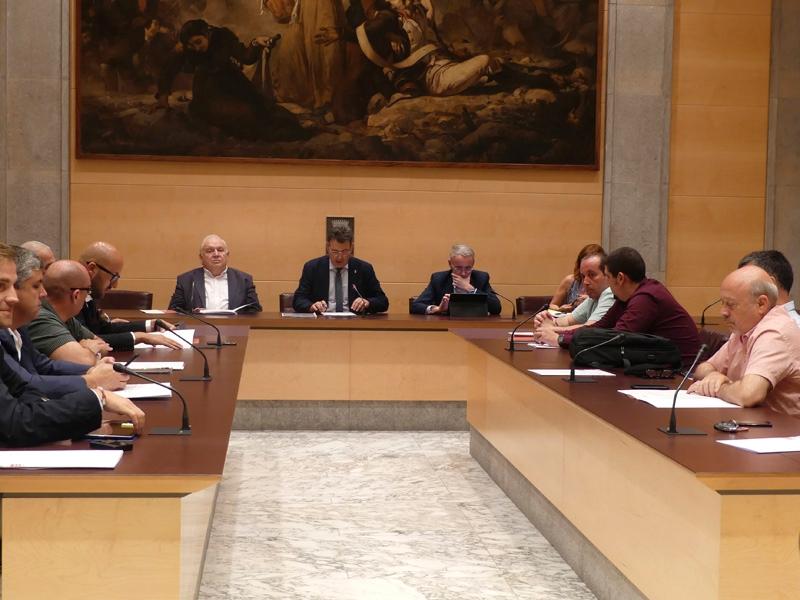 Foto 3 : El ple d'actes conclou la legislatura 2015-2019