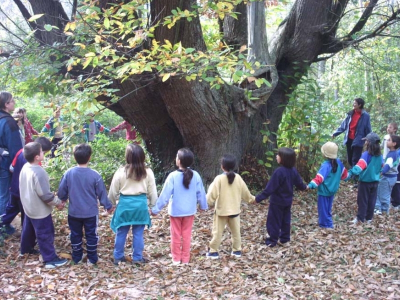 Foto 1 : Ajuts per divulgar els espais naturals i implicar els escolars en la protecció i conservació d'aquests indrets