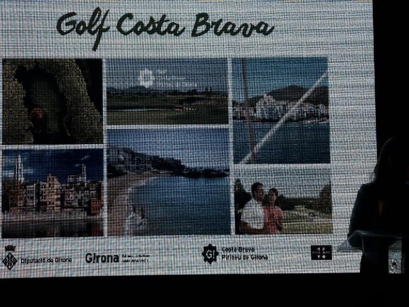 Foto 4: L'oferta de golf de la Costa Brava es promociona a la principal fira professional de golf internacional, la IGTM<br>