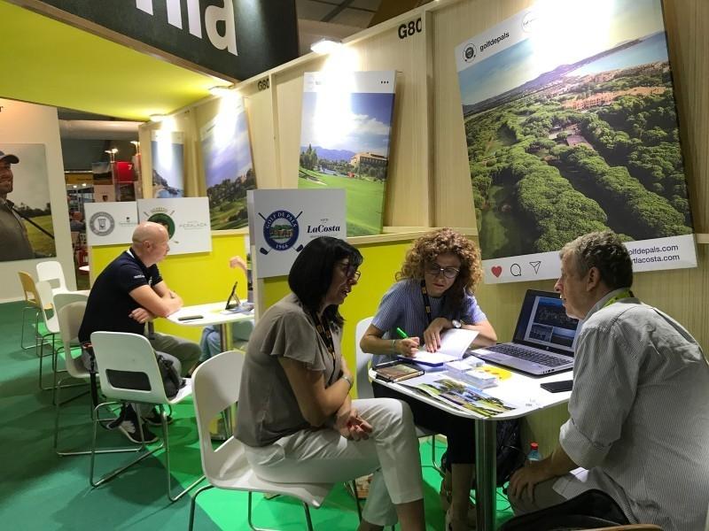 Foto 5: L'oferta de golf de la Costa Brava es promociona a la principal fira professional de golf internacional, la IGTM<br>