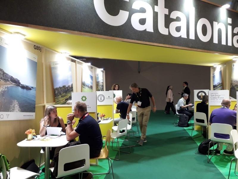 Foto 6: L'oferta de golf de la Costa Brava es promociona a la principal fira professional de golf internacional, la IGTM<br>