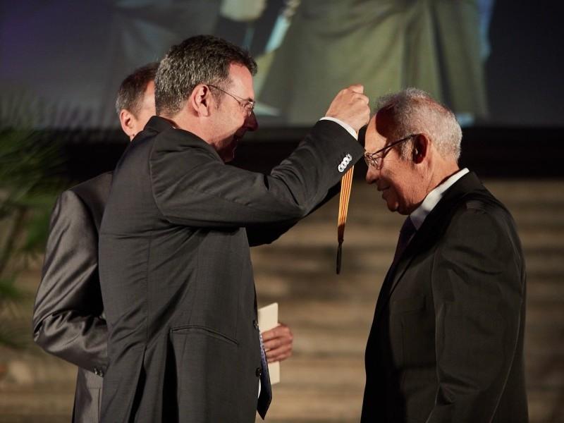 Foto 2 : Lliuren les Medalles de l'Esport en homenatge al llegat esportiu de quinze gironins