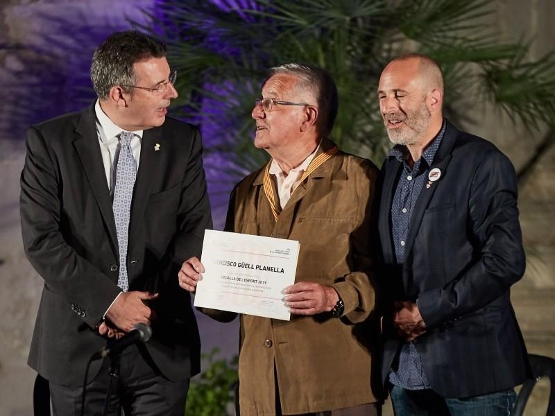 Foto 8: Lliuren les Medalles de l'Esport en homenatge al llegat esportiu de quinze gironins