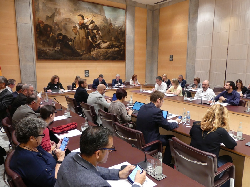 Foto 2 : La Diputació de Girona s'adhereix a la moció de resposta a la Sentència del Tribunal Suprem, demana l'amnistia per als presos polítics catalans i defensa el dret d'autodeterminació<br>