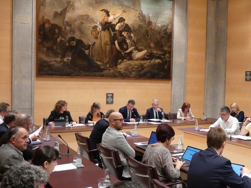 Foto : La Diputació de Girona s'adhereix a la moció de resposta a la Sentència del Tribunal Suprem, demana l'amnistia per als presos polítics catalans i defensa el dret d'autodeterminació<br>