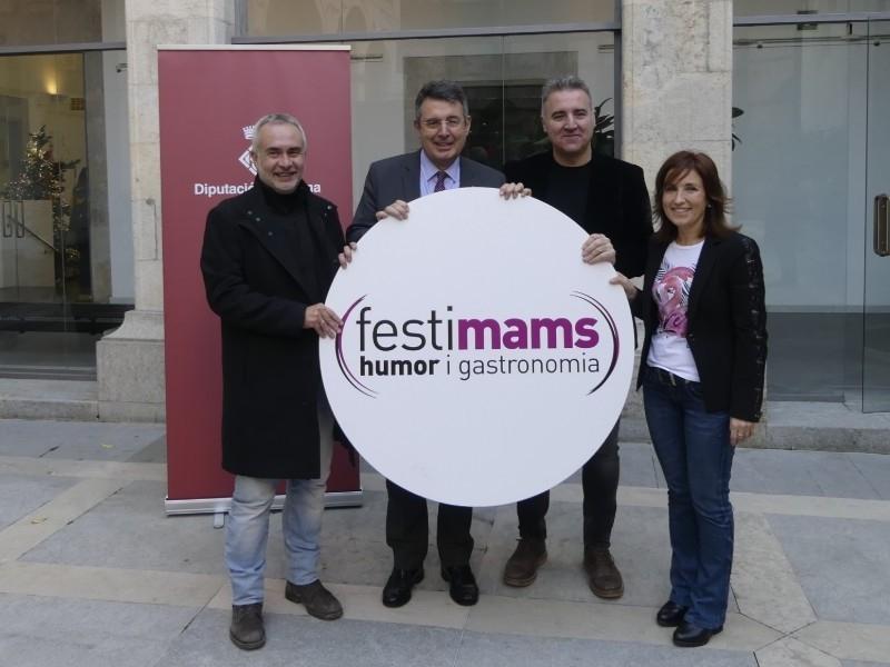 Foto : <p>La quarta edici&oacute; del festival Festimams consolida l&rsquo;humor a Girona i potencia la qualitat gastron&ograve;mica gironina</p>