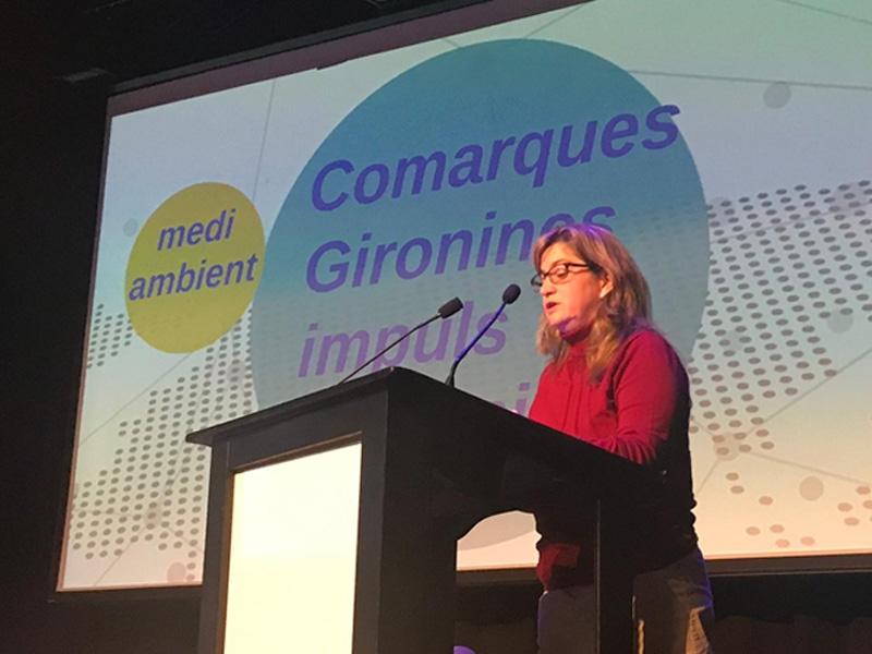 Foto 1 : <p>La primera jornada &laquo;Un m&oacute;n millor&raquo; a Girona es clou amb la intervenci&oacute; de la vicepresidenta Maria Puig</p>