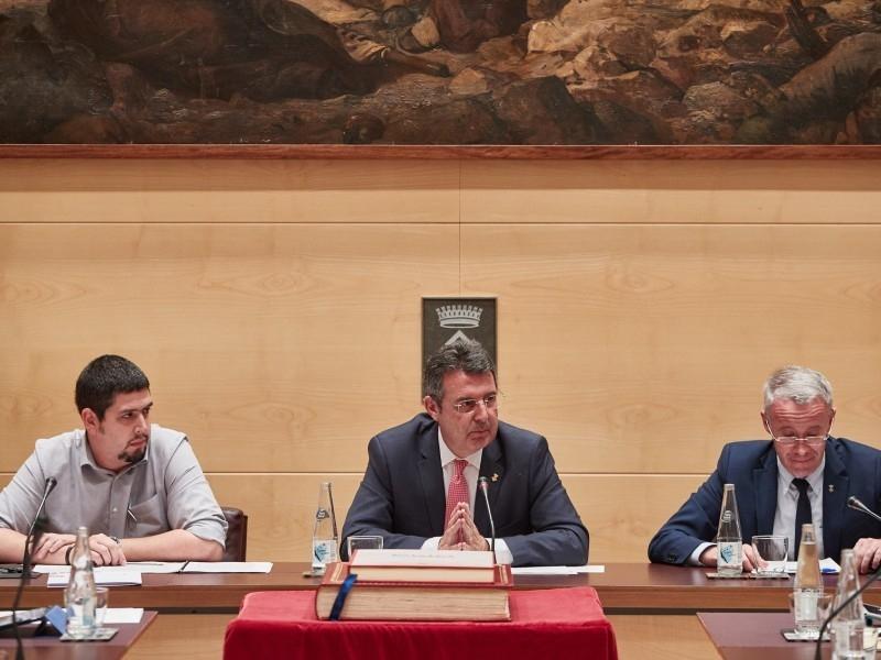 Foto 2 : Aprovat el Cartipàs de la nova legislatura de la Diputació de Girona