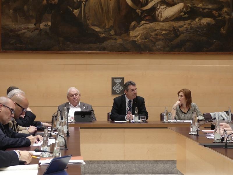Foto 1 : La darrera sessió plenària de la legislatura se centra en la millora dels municipis i de la xarxa viària de les comarques gironines<br>