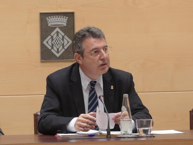 Foto 3 : La darrera sessió plenària de la legislatura se centra en la millora dels municipis i de la xarxa viària de les comarques gironines<br>