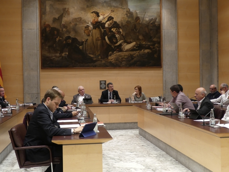 Foto 4: La darrera sessió plenària de la legislatura se centra en la millora dels municipis i de la xarxa viària de les comarques gironines<br>