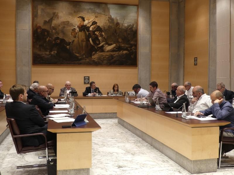 Foto 6: La darrera sessió plenària de la legislatura se centra en la millora dels municipis i de la xarxa viària de les comarques gironines<br>