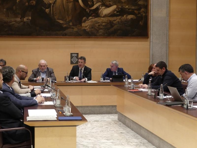 Foto 3: L'àmbit social continua present al ple de la Diputació de Girona