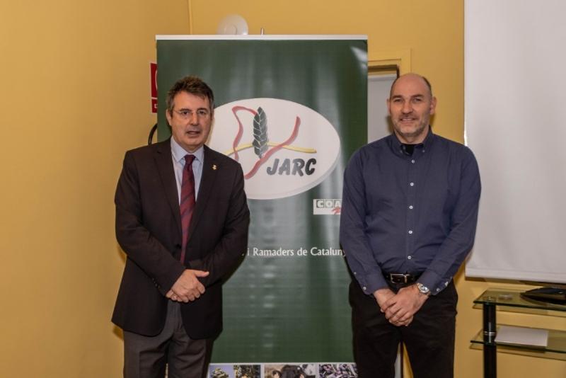 Foto 3 : <p>El president de la Diputaci&oacute; obre la primera jornada sobre el bestiar porc&iacute; a la demarcaci&oacute; de Girona</p>