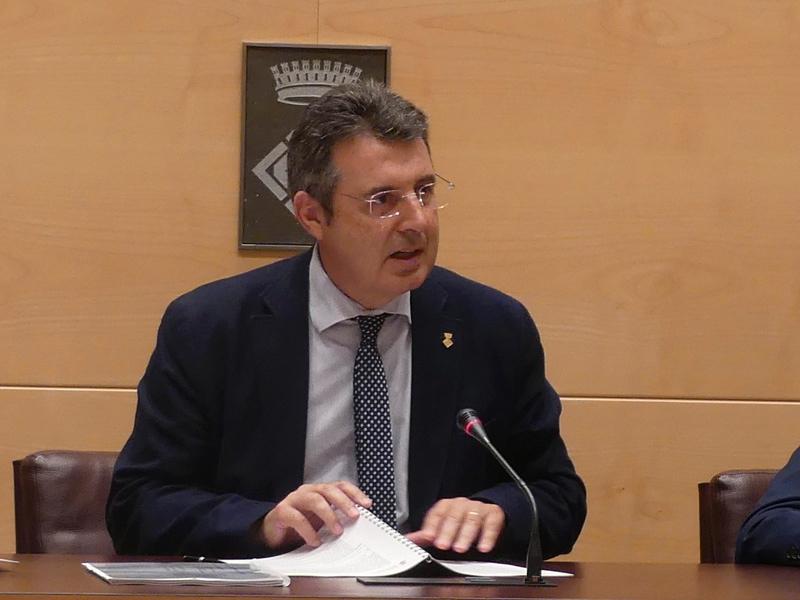 Foto 2 : El ple d'actes conclou la legislatura 2015-2019
