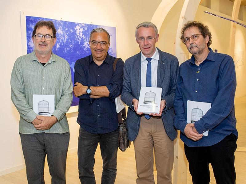 Foto 1 : Presentació de la reedició del llibre El Autonomista: el diari dels Rahola amb motiu del vuitantè aniversari de l'afusellament de Carles Rahola