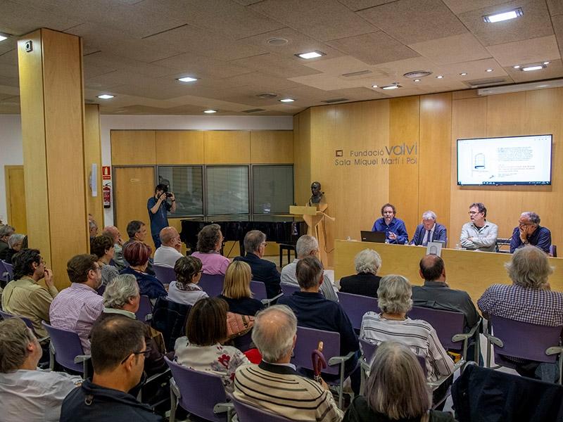 Foto 2 : Presentació de la reedició del llibre El Autonomista: el diari dels Rahola amb motiu del vuitantè aniversari de l'afusellament de Carles Rahola