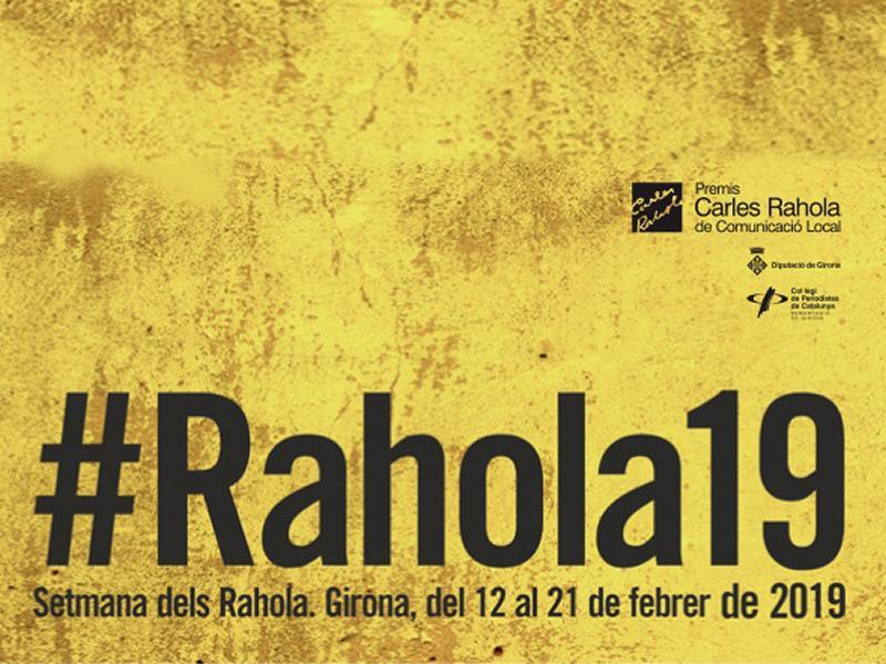 Foto 1 : Els X Premis Carles Rahola de Comunicació Local reben 55 treballs de 51 participants<br>