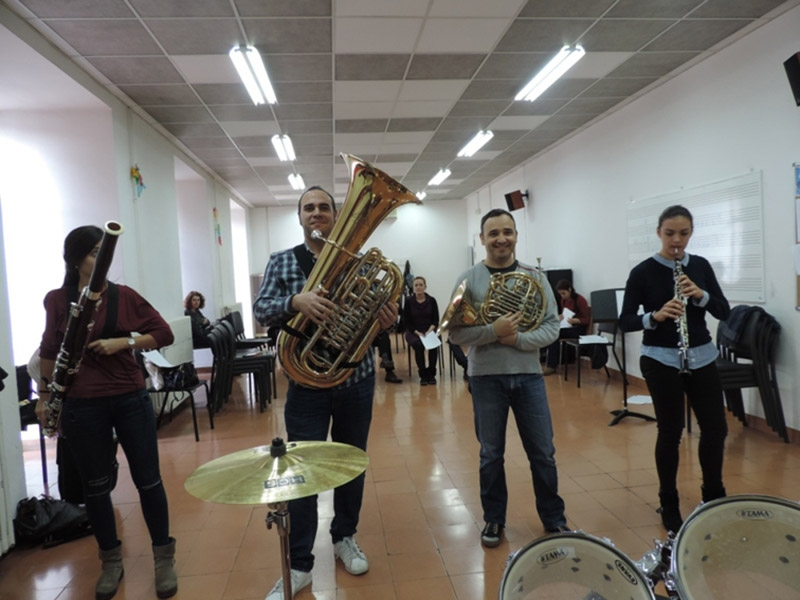 Foto 4: El concert del grup musical Morgat Morgat dona el tret de sortida al Pati Cultural del 2019<br>