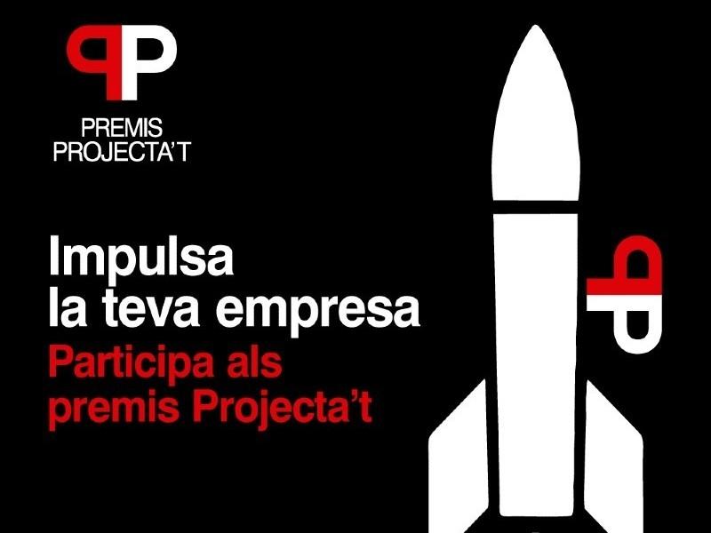 Foto 1 : La Diputació fa un pas endavant en l'impuls de l'emprenedoria amb la primera edició dels Premis Projecta't