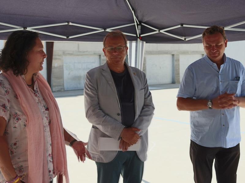 Foto 3 : S'inaugura la caldera de biomassa de Vilobí d'Onyar<br>